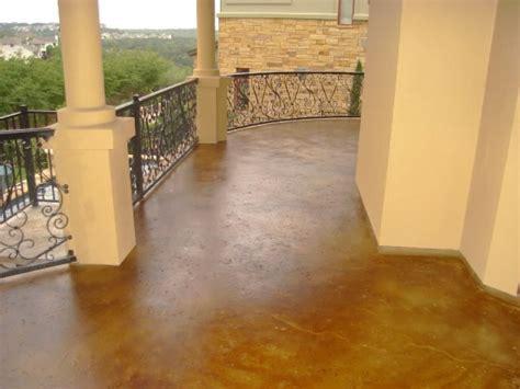Exterior Concrete Stains and Designs Austin, TX. Artcrete