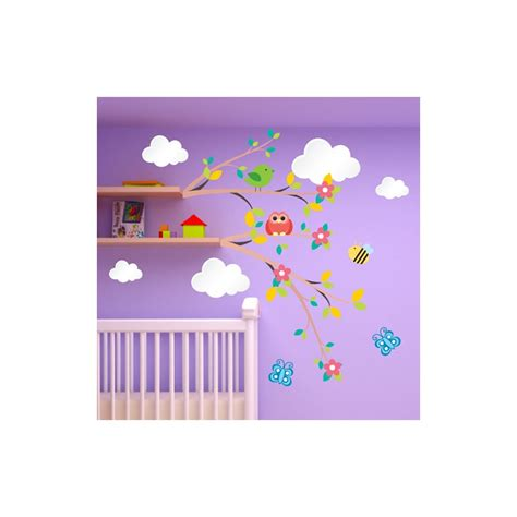 sticker chambre bebe stickers chambre bebe nuage chaios com
