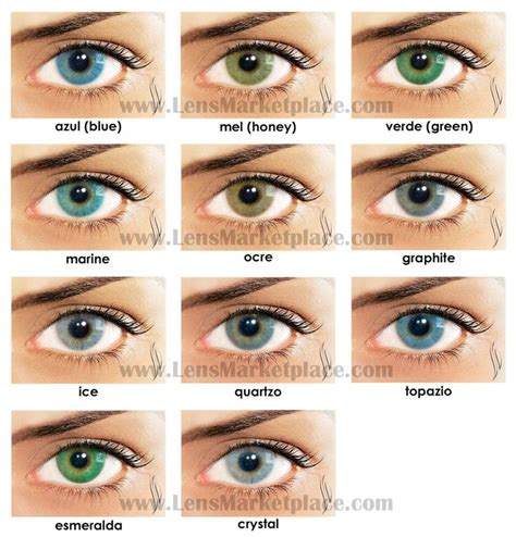 eye contacts colors solotica hidrocor color contact lenses lens marketplace