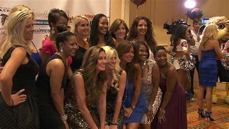 nfl cheerleaders reunite  edition