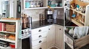 Rangement Tiroir Cuisine : 10 astuces pour un rangement plus efficace des armoires et ~ Melissatoandfro.com Idées de Décoration