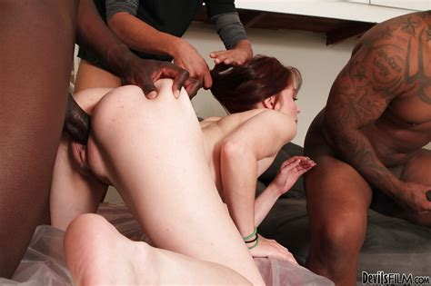 Stunning Interracial Groupsex With Cum Swallowing Jessi