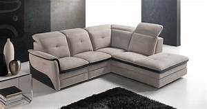 amalia angle meridienne fixe ou relaxation personnalisable With canapé d angle avec fauteuil relax
