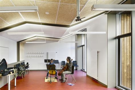 Gallery of Music Conservatory in Paris' 17th