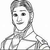 Prince Coloring Hans Frozen Face Coloringpages101 Cartoon Angry Bird Pdf Getdrawings Drawing sketch template