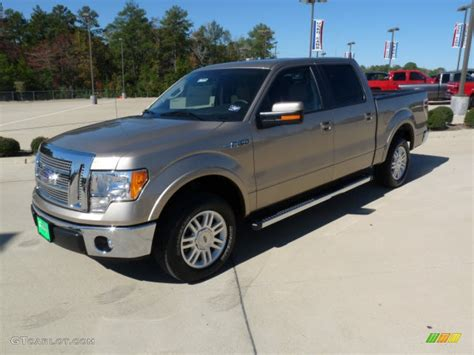 2011 pale adobe metallic ford f150 lariat supercrew