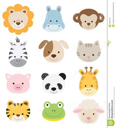 clipart animals farm animals clipart jungle animal pencil and in color