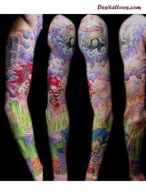 video game tattoos ideas  sleeve