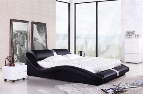 king and queen bedroom decor bedroom furniture european modern design top grain 18994