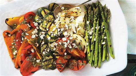 que cuisiner assiette estivale de légumes grillés recettes iga recette facile accompagnement bbq