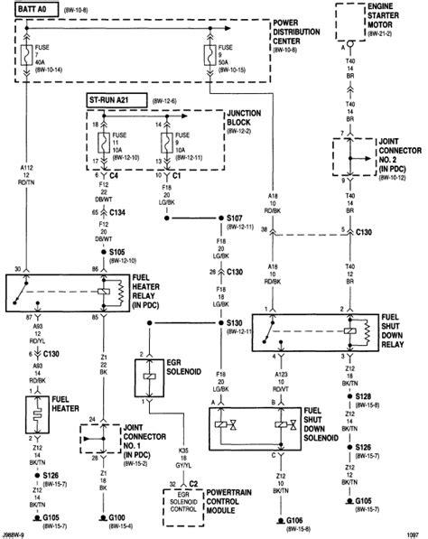 98 Dodge Ram 2500 Wiring Diagram by I A 98 Ram 2500 12v Cummins My Problem Is That It