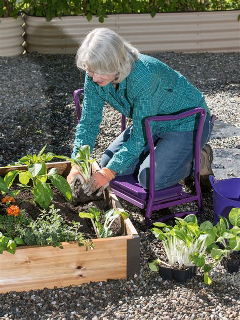 kneeler seat  gardening  orders ship