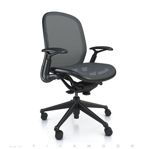 knoll chadwick mesh desk chair chadwick chair knoll 3d model