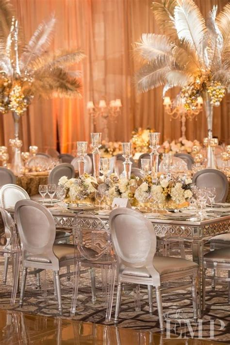 glitter inspiration  wedding decor threads