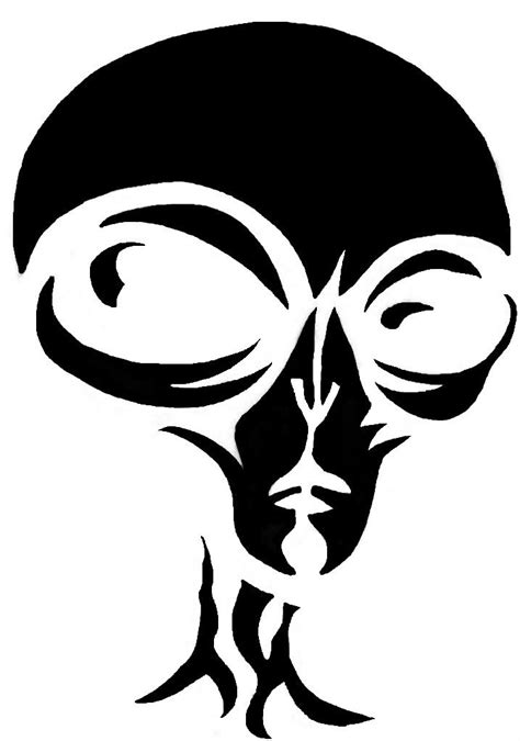 alien stencil google search pattern art stencil