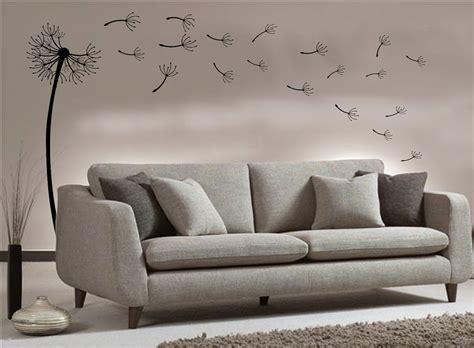 dandelion vinyl wall art digital image lounge