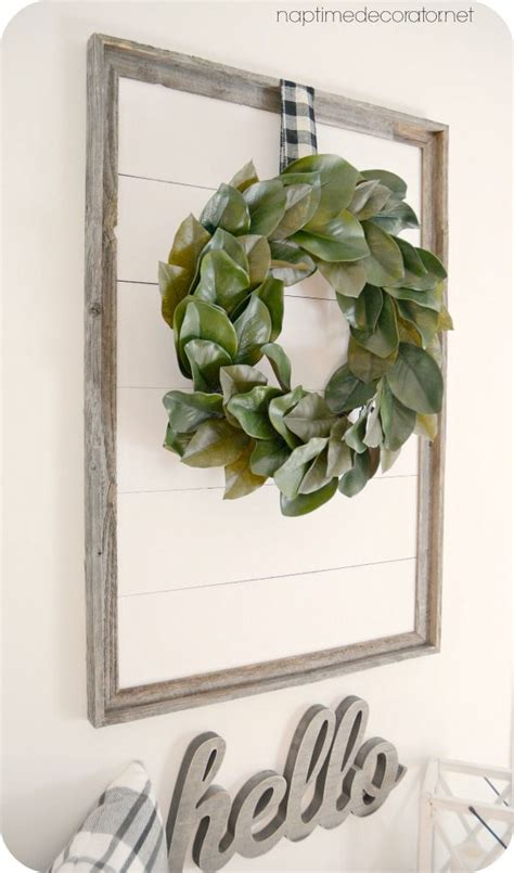 Framed Shiplap by Diy Shiplap In A Frame She S Crafty Home Remodeling