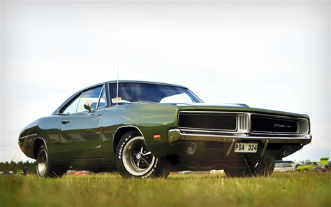 Muscle Car Dodge Widescreen Desktop Wallpaper 4981