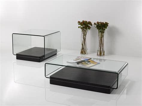 This coffee table has the fibonacci sequence of numbers etched into the glass and the proportions are scaled around the golden mean ratio of 1 to 1.618. Vitro Modern Glass and Oak Coffee Table - Coffee Tables - Living Room