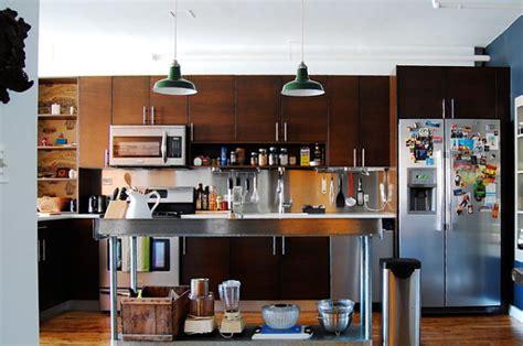 loft kitchen island stainless steel kitchen islands ideas and inspirations 3840