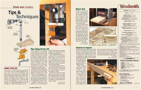 sample issue woodsmith magazine