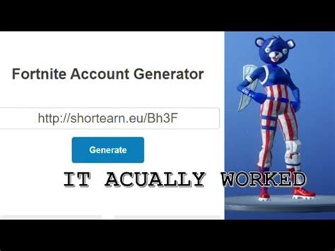 stacked fortnite account   account generator
