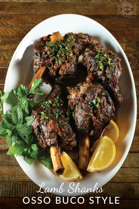 lamb shanks osso buco style recipe   lamb shank
