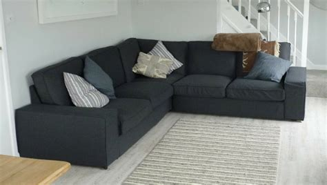 Ikea Kivik Corner Sofa by Ikea Kivik Corner Sofa Large 2 5m X 2 5m In