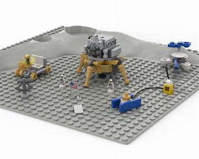 Moc Lunar Landing Apollo Mocs Lego Rebrickable