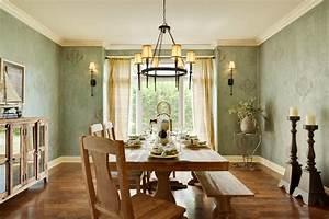 Vintage dining room lighting ideas wih bronze