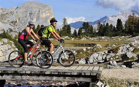 mountain biking dolomites  trails   fanes alps