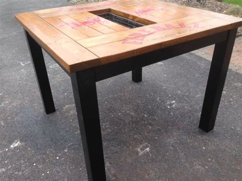 diy pub table plans woodworking projects plans