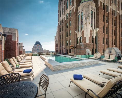 unique rooftop pool attracts baltimore residents
