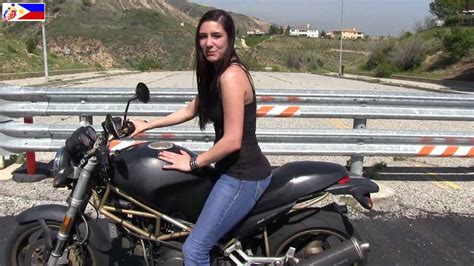 The Cutest Female Motorcycle Riding Instructor In The