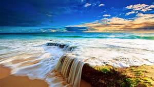 Shiny, Colorful, Beach, Nature