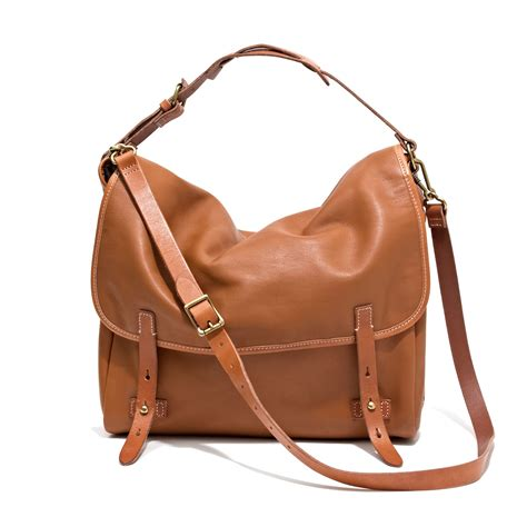 madewell  dover messenger  brown lyst