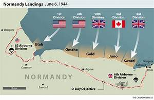 D-Day Normandy Landings Map | WWII-Europe-1944 | Pinterest ...