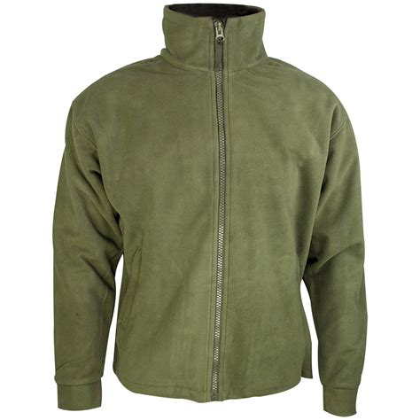 green mens highlander thor fleece jacket olive fleeces 1st