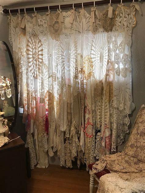 doily window curtain home decor bathroom decor