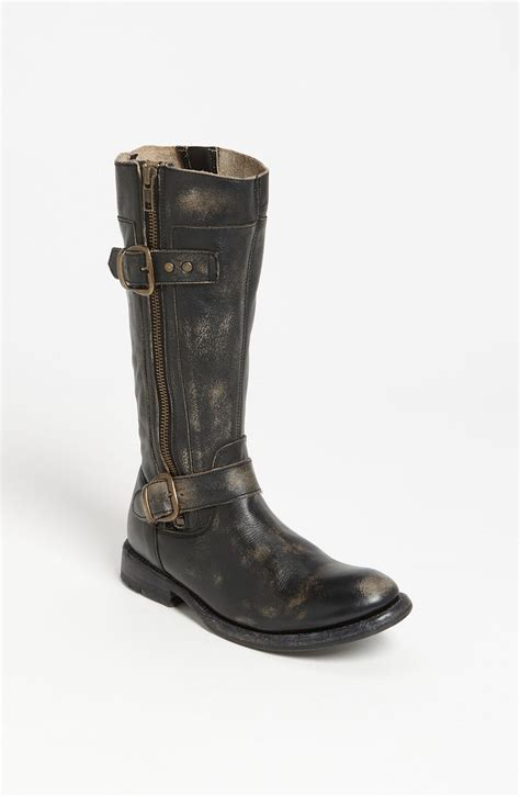 Bed Stu Gogo Boots bed stu gogo boot in black black wash lyst