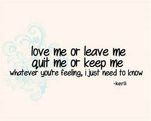 Love Quotes From Love Song Lyrics | Quotes