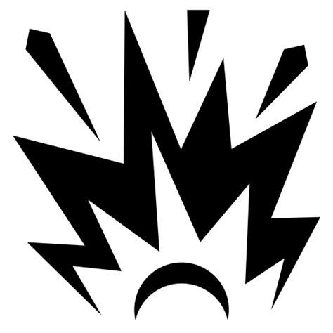 explosion icon game iconsnet