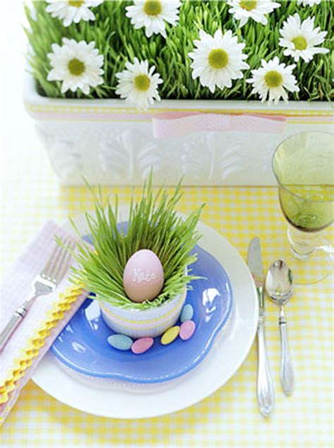 easter table decor ideas    family holiday special digsdigs