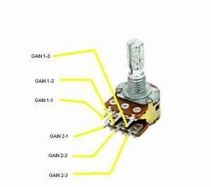 Dual Gang Potentiometer Wiring