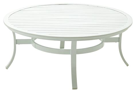 outdoor cocktail table round roma round cocktail table white outdoor from one kings lane