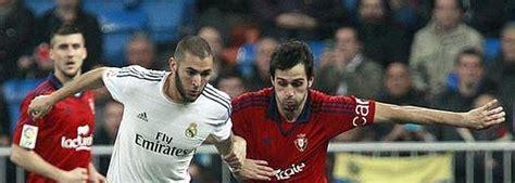 Directo Real Madrid vs Osasuna: La Liga transmisión en ...