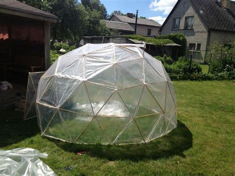 Diy Geodesic Dome Greenhouse  The Ownerbuilder Network
