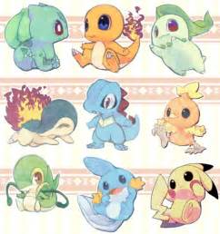 cute baby pokemon fanart