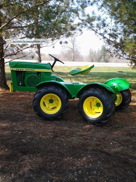 deere garden tractor deere 110 fender 4x4 articulated garden tractor