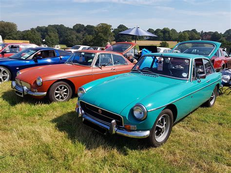 Maybe you would like to learn more about one of these? Two for Tuesday! We are loving this pair of MGB GT's and ...